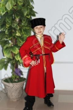 Комплект школьной казачьей формы для выступлений на мальчика