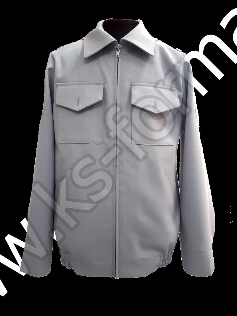 Куртка кадетская с шевронами